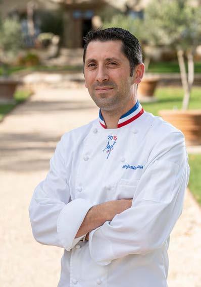 Benjamin Patisser Chef Executif Au Domaine De Fontenille A Lauris