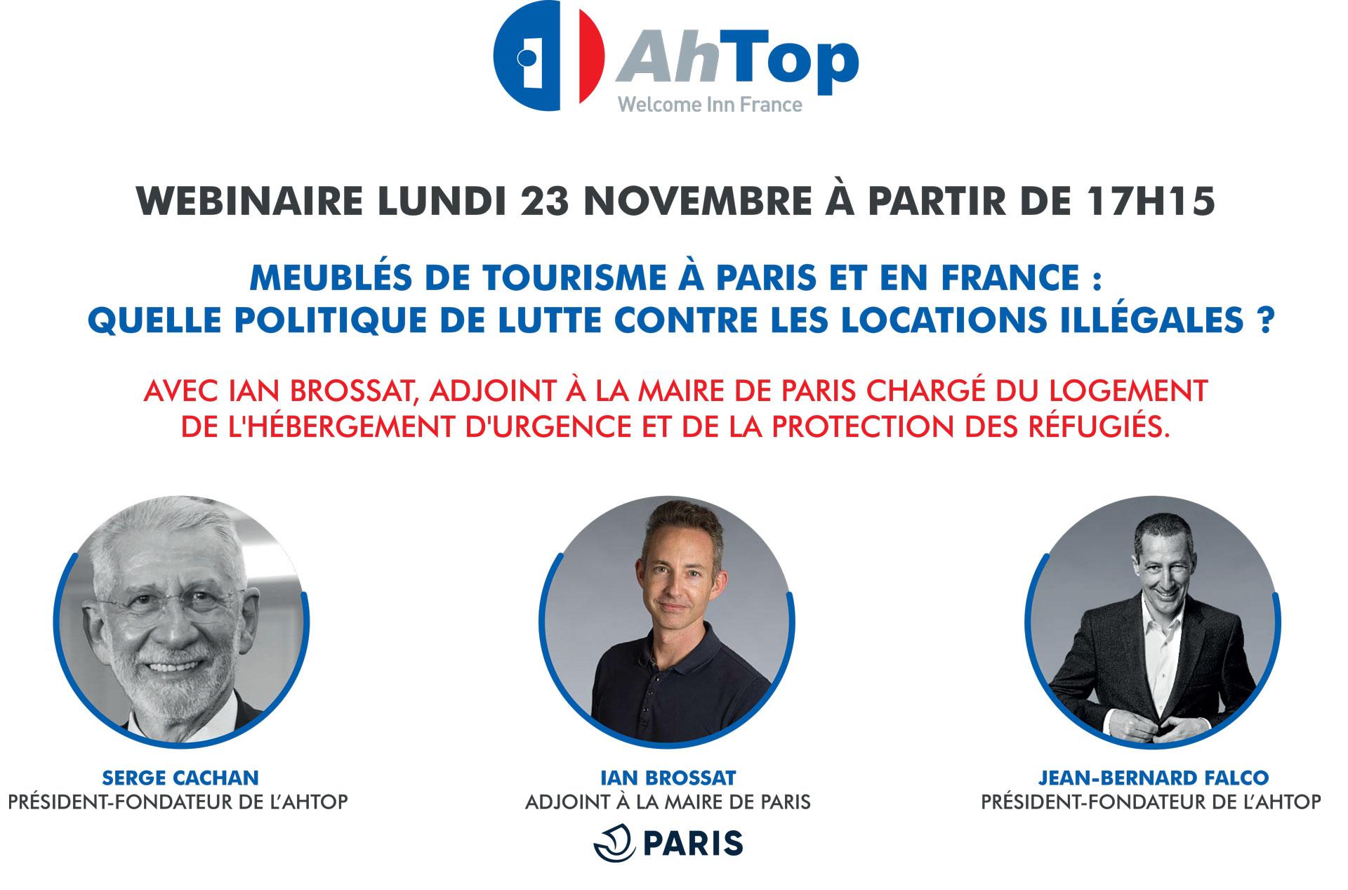 Webinar Meubles De Tourisme A Paris Et En France Quelle Politique De Lutte Contre Les Locations Illegales Le 23 Novembre 2020 Tendancehotellerie