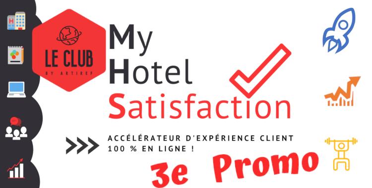 Rejoignez la 3e promotion de l'accélérateur de satisfaction client, élevez votre relation client, c'est ce qui va faire la différence