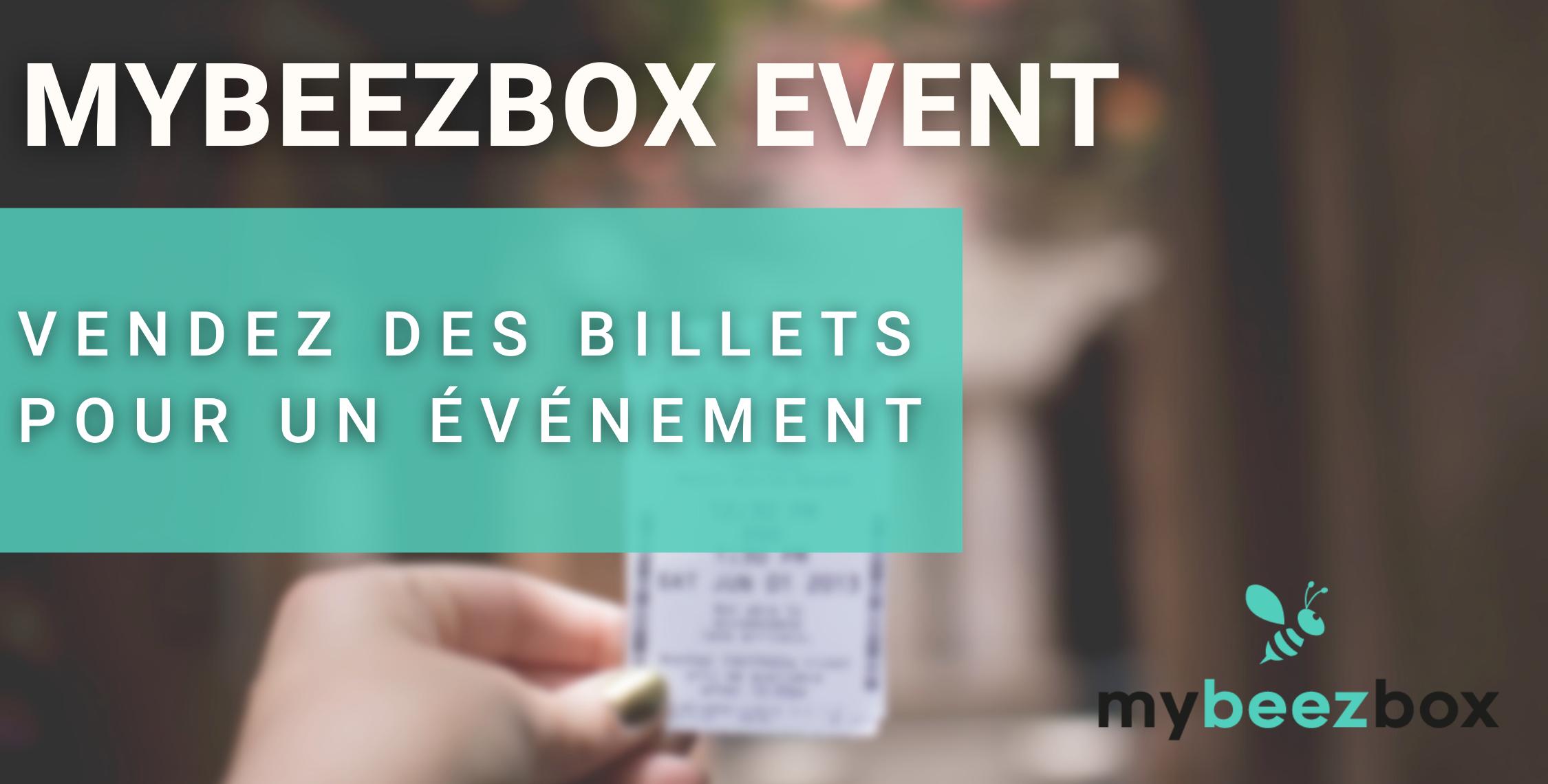 Conçue pour vous faire gagner du temps dans l'organisation et la gestion de votre événement, MyBeezBox Event vous permet d'automatiser l'achat des places, le paiement et l'envoi des billets.