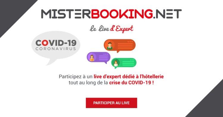 Live Expert Actualité Question Hôtellerie Crise Covid Misterbooking PMS